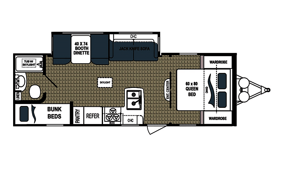floorplan 2017 Dutchmen Kodiak Margate, FL