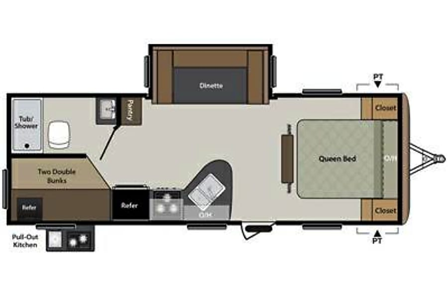 floorplan 2016 Keystone Springdale Santa Rosa, CA