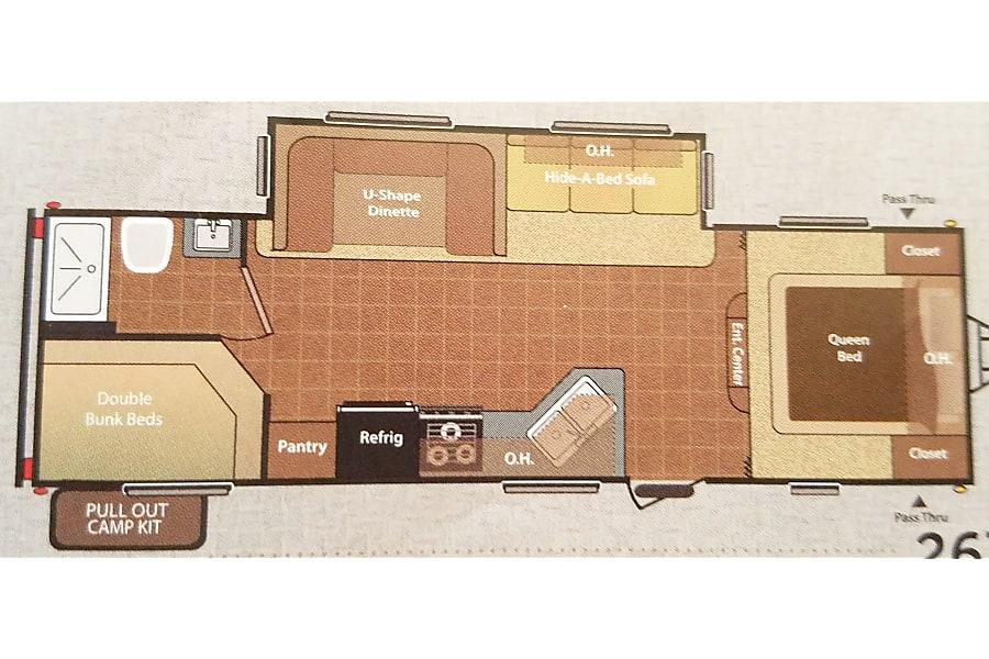 floorplan Our Homey Hideout Chula Vista, California