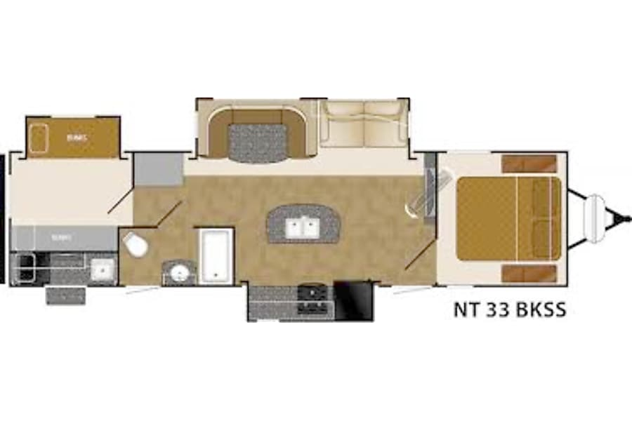 floorplan 2014 Heartland North Trail Helendale, CA