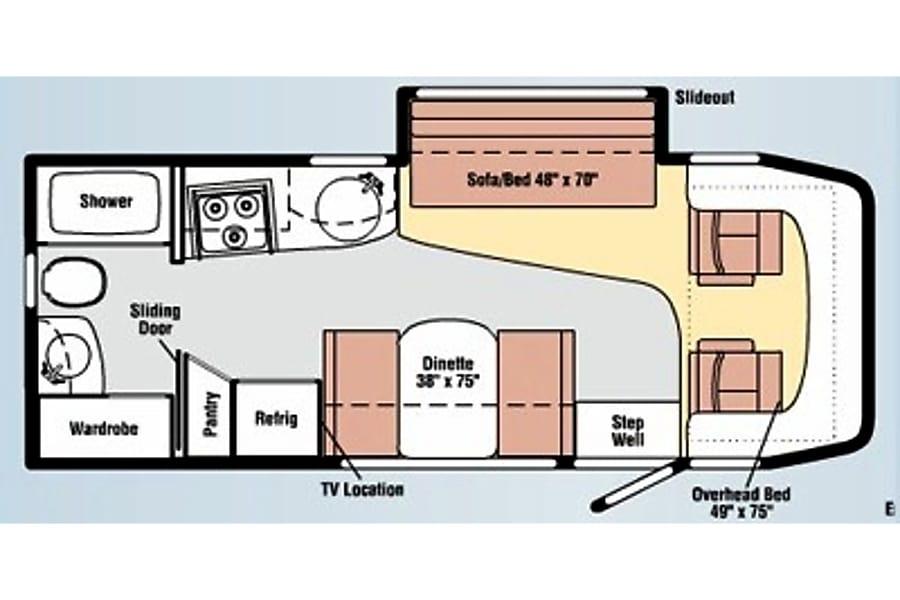 floorplan Sprinter Navion 796790 Walnut, CA