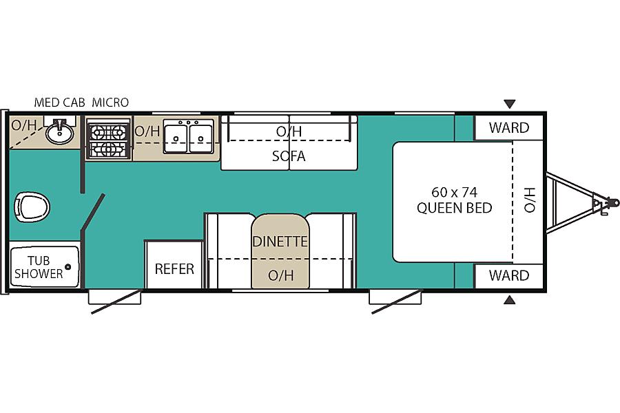 floorplan Viking 21FQ Centennial, CO