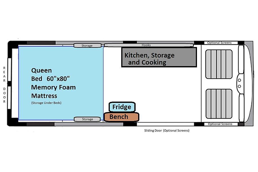 Medium - Extra Tall - Boise Boise, ID Floorplan