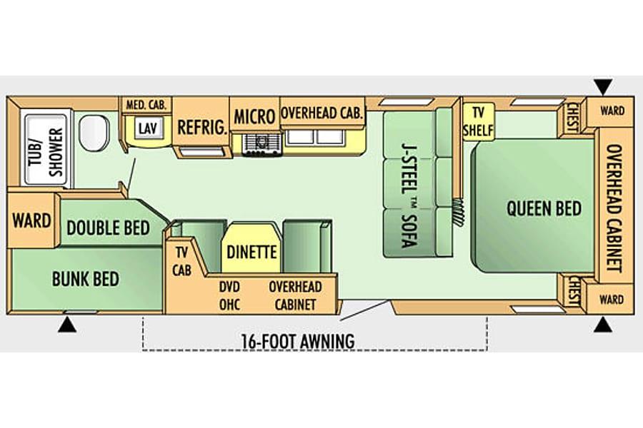 floorplan Swift New Braunfels, TX