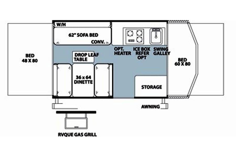 floorplan 2013 rockwood 1907bh Savage, MN