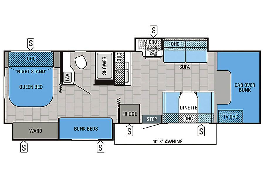 floorplan Our No Hassle Castle Boonton, NJ