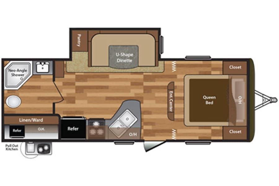floorplan 2016 Keystone Hideout Warwick, RI