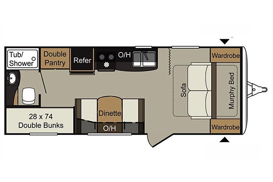 floorplan 2017 Keystone Passport Phoenix, AZ