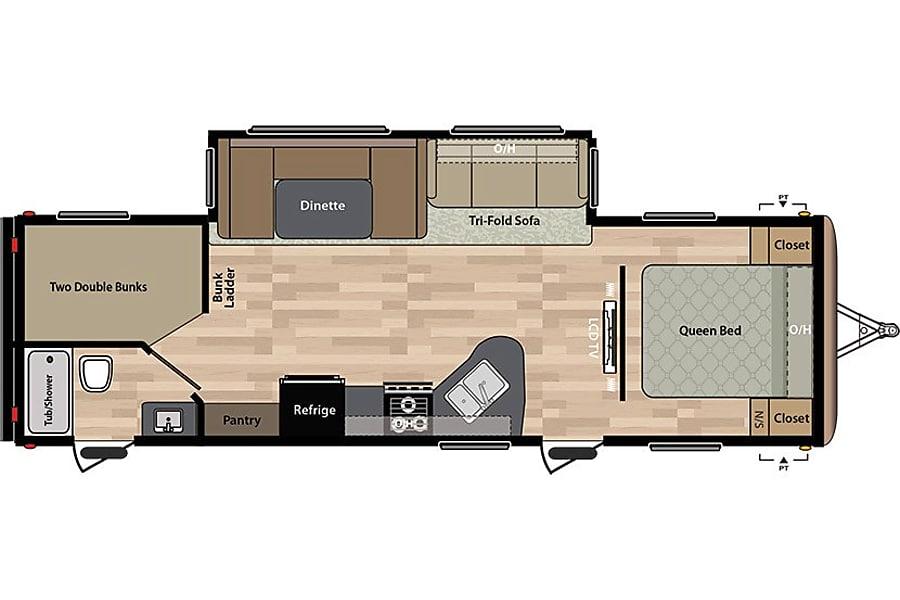 floorplan 2015 Keystone Springdale Bend, OR