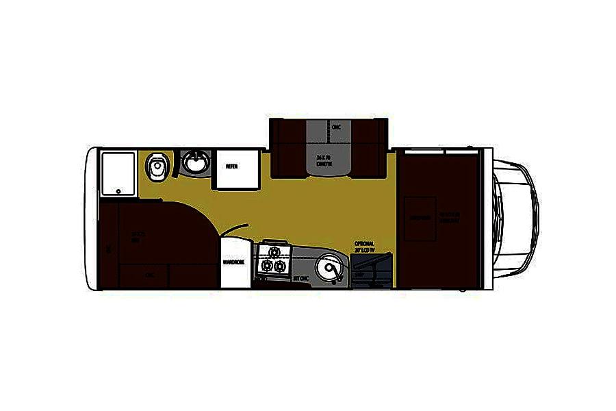 floorplan Enjoy this RV in the Smoky Mountains! Sevierville, TN