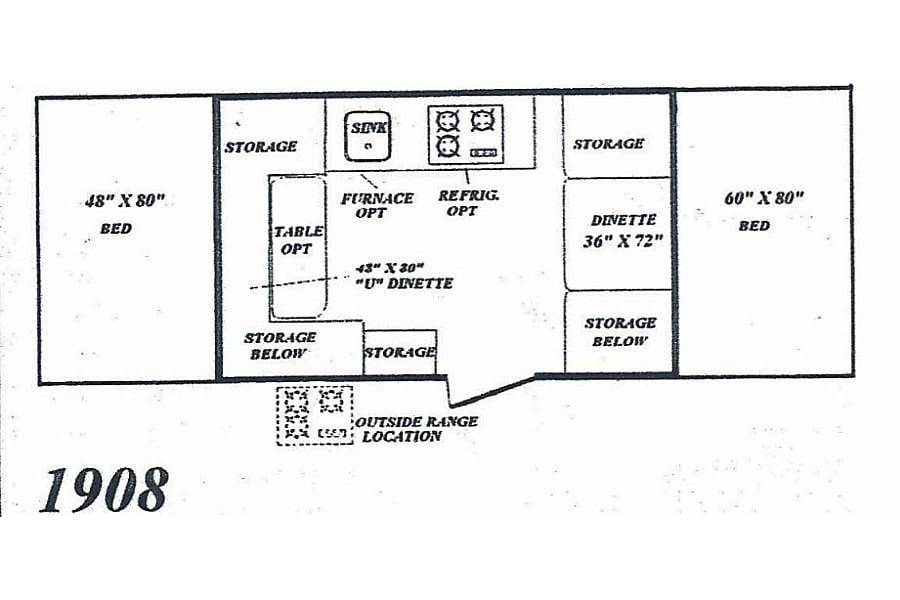 floorplan 1996 Damon Camplite Rockford, MI