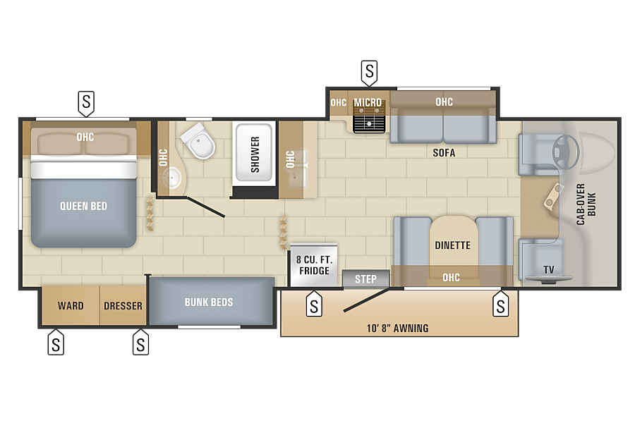 floorplan 2018 Jayco Redhawk Ottawa, ON