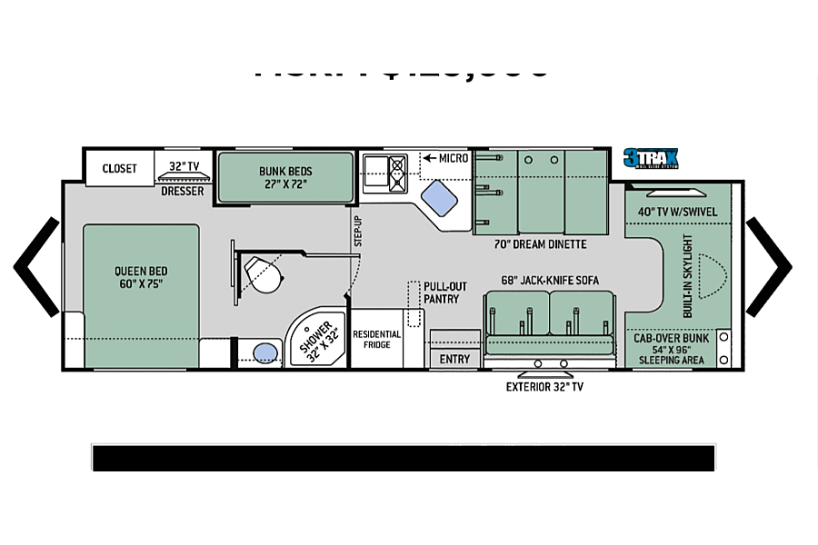 floorplan 2016 Thor Motor Coach quantom Vancouver, WA