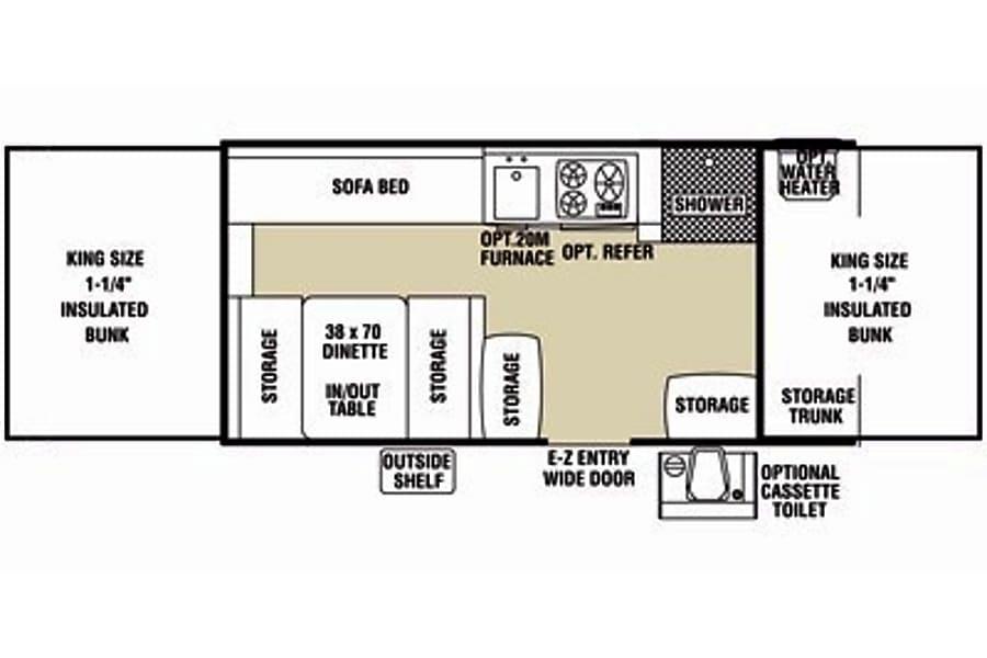 floorplan Pretty Pop! Carleton Place, ON