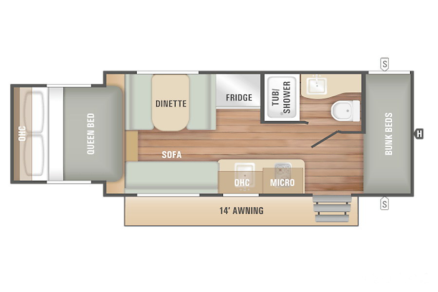 floorplan 2018 Starcraft Launch New Tecumseth, ON