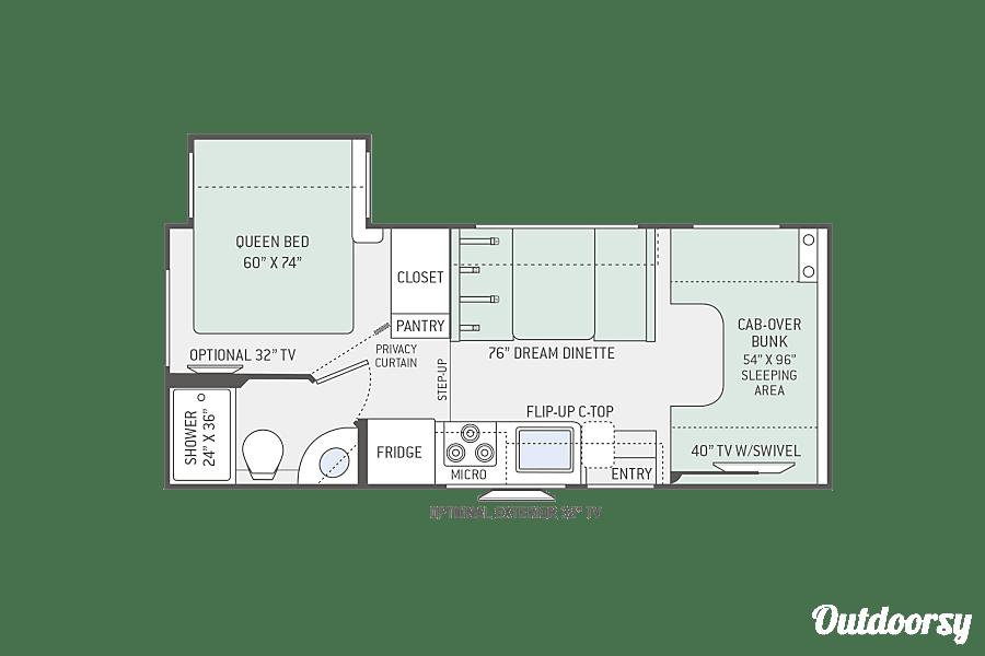 floorplan 2017 Four Winds Motor 22B Sainte Thérèse, QC