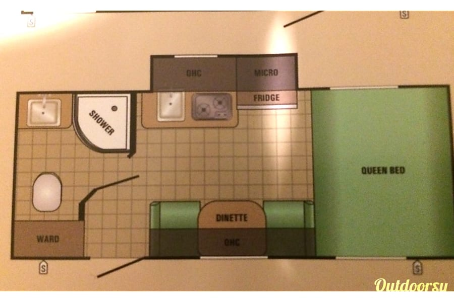 floorplan 2017 Starcraft Comet Huntingtown, MD