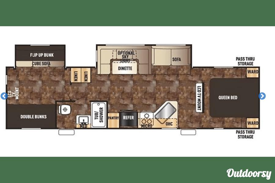 floorplan 2016 Forest River Cherokee Springfield, MO