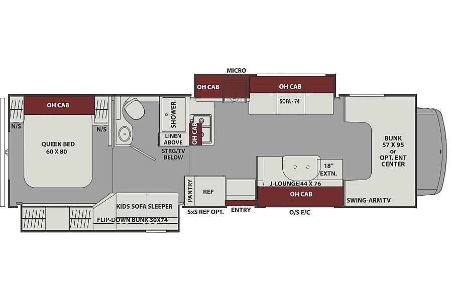 floorplan Deluxe (2018) Oro Medonte, ON