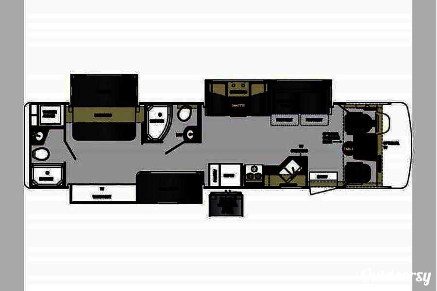 floorplan 2016 Forest River Georgetown Gap, PA