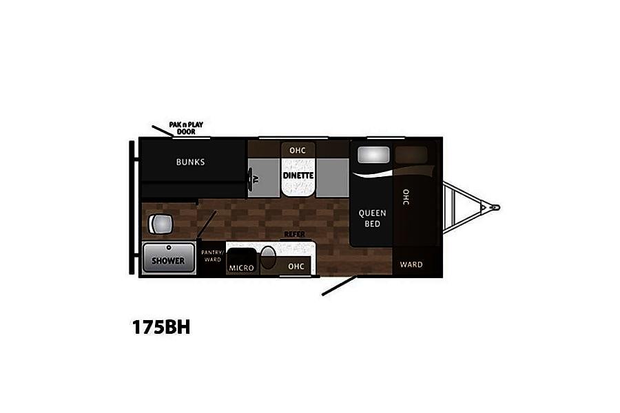 floorplan 2018 Dutchmen Kodiak Miramar, FL