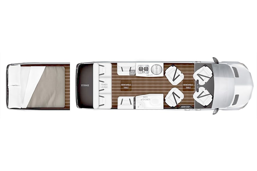 floorplan 2017 Mercedes-Benz Interstate Lounge Cedar Grove, NJ