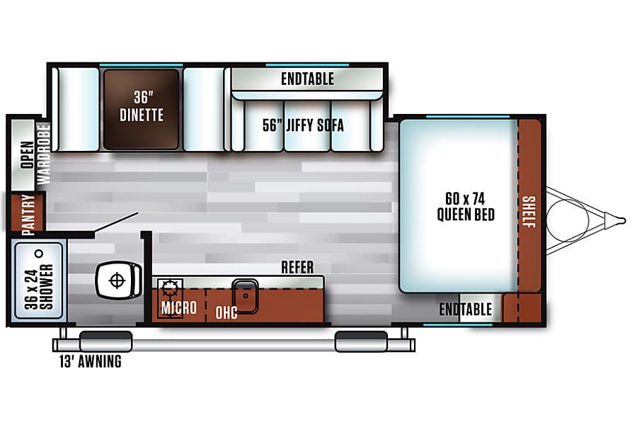 floorplan 2018 FSX 190SS Marietta, SC