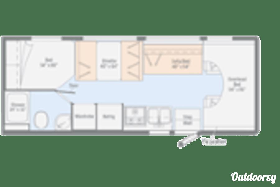 floorplan 2019 Winnebago Outlook Fairbanks, AK