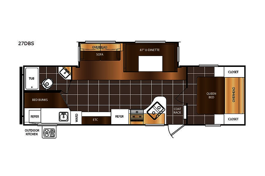 floorplan 2018 Prime Time AvengerATI Minesing, ON