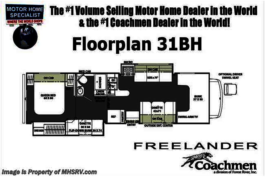 floorplan 2019 Coachmen Freelander Boulder City, NV