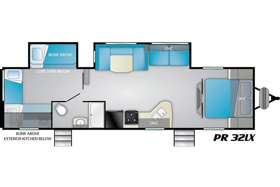 floorplan 2019 Heartland Prowler Lynx Toronto, ON