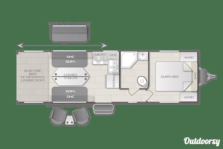 floorplan 2019 Forest River Stealth Gulfport, MS