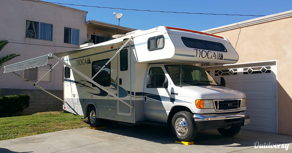 2010 Ford Tioga Motor Home Class C Rental In Alhambra Ca
