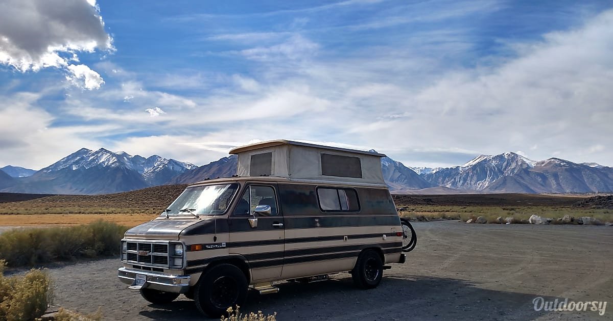 1983 Gmc Vandura Conversion Van Motor Home Class B Rental in Sutter Creek, CA | Outdoorsy