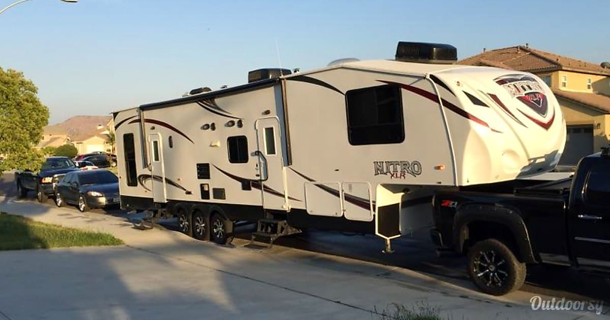 2013 Forest River Nitro Xlr 38dbq5 Fifth Wheel Rental In