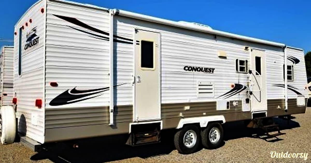 2008 gulf stream conquest trailer rental in lexington sc for Motor home rentals dallas