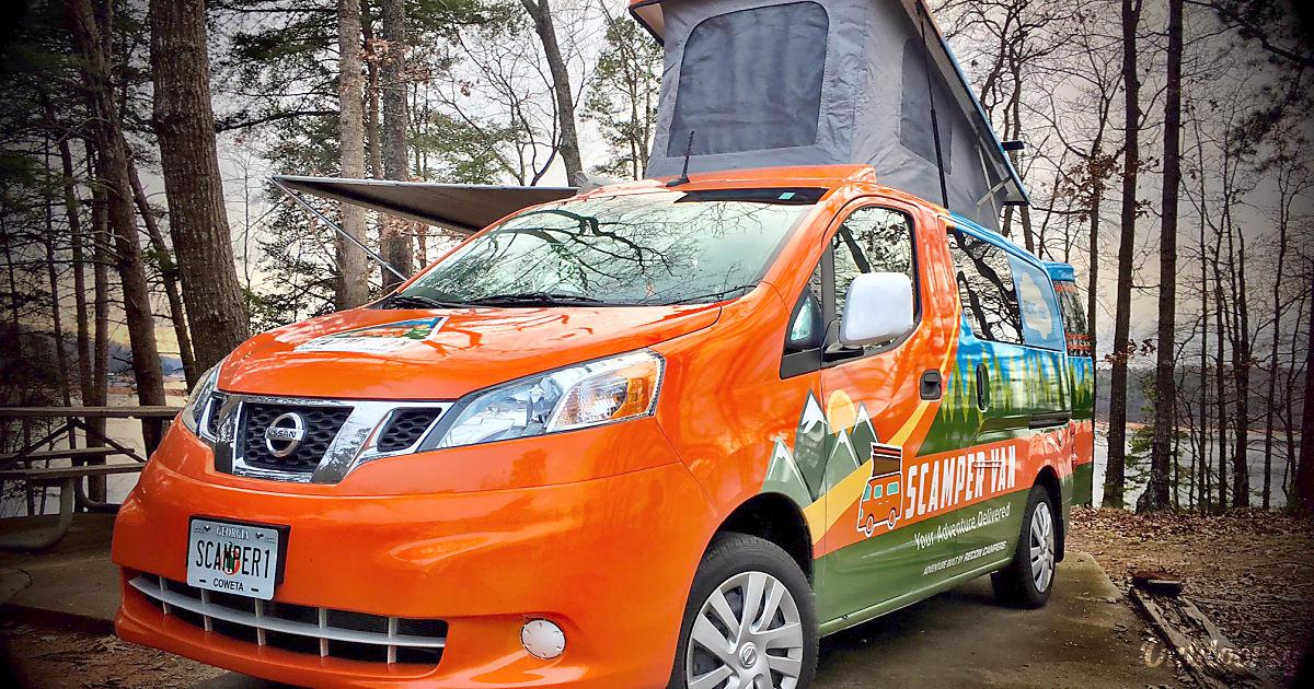 2017 Nissan Nv 200 Motor Home Camper Van Rental In Atlanta