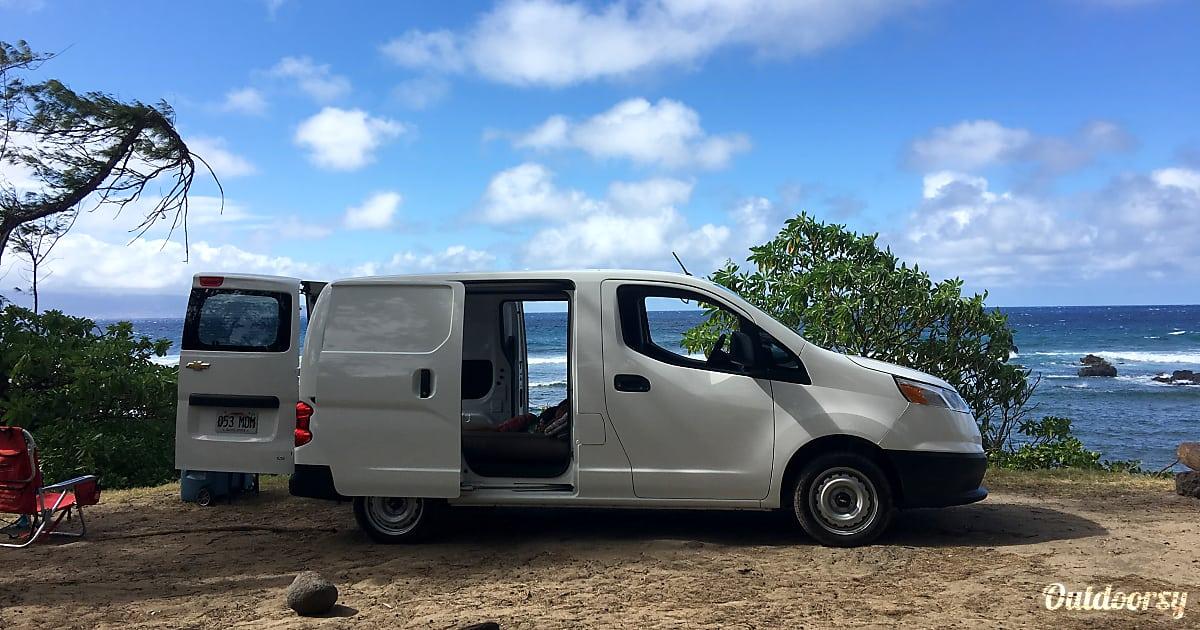 2015 Chevrolet City Express Ls Motor Home Camper Van