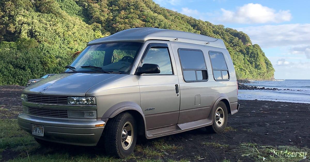 2001 Chevrolet Astro Conversion Van Motor Home Camper Van ...