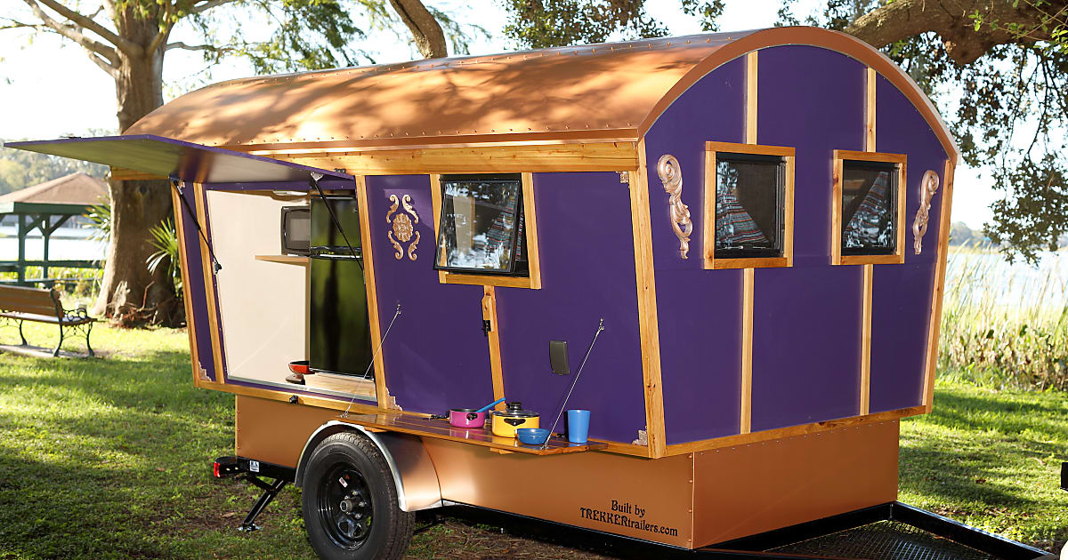 2017 Trekker Trailer Gypsy Wagon Trailer Rental In Eustis