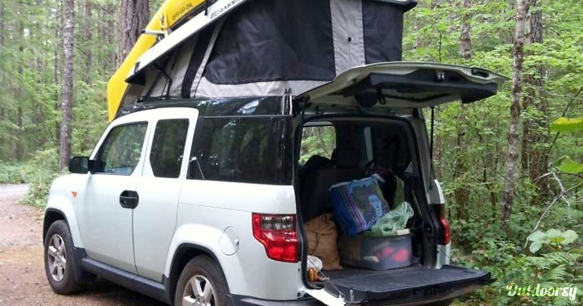 2011 Honda Element Motor Home Camper Van Rental In Seattle