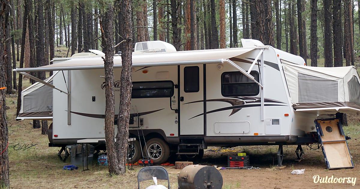 2015 Forest River Rockwood Roo Trailer Rental In Mesa Az