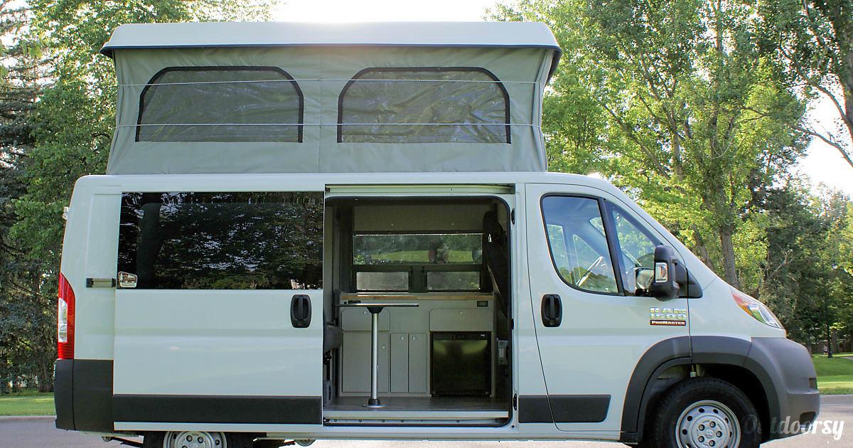 2017 Dodge Promaster Motor Home Camper Van Rental In