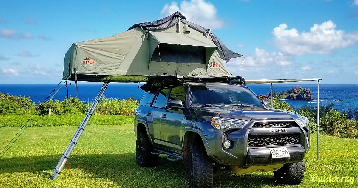 2016 Tepui Rooftop Tent Toyota 4runner Trd Pro Motor Home