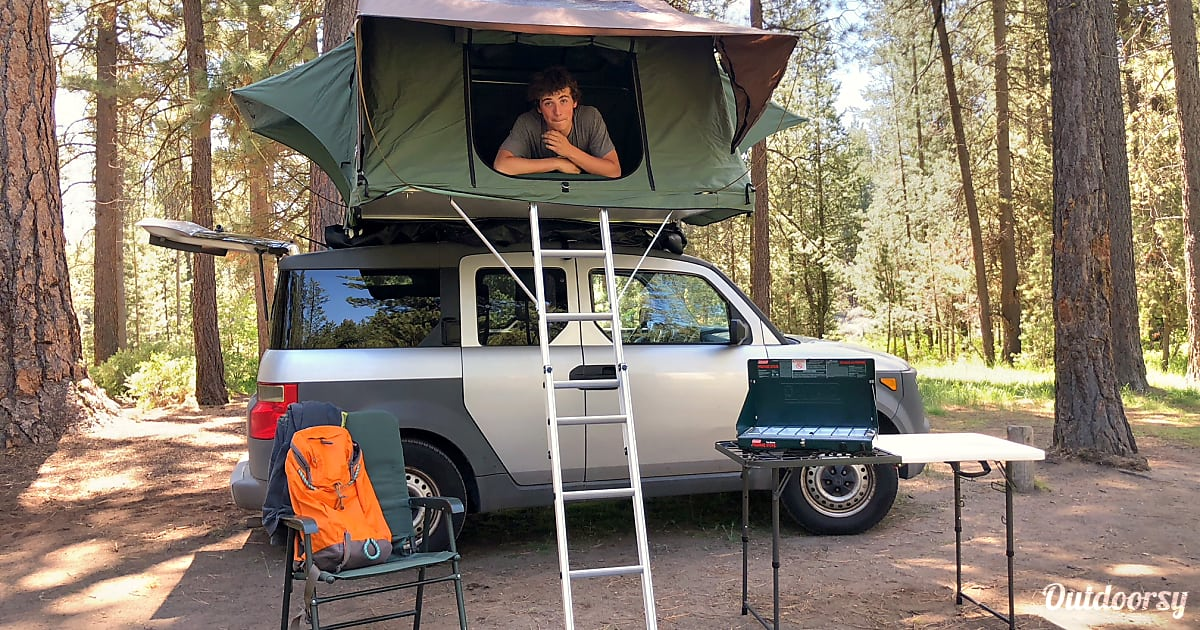 2003 Honda Tent On Top Motor Home Camper Van Rental In