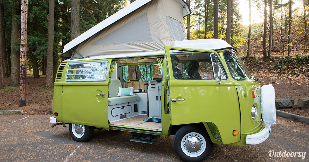 1976 Volkswagen Vanagon Camper Motor Home Camper Van