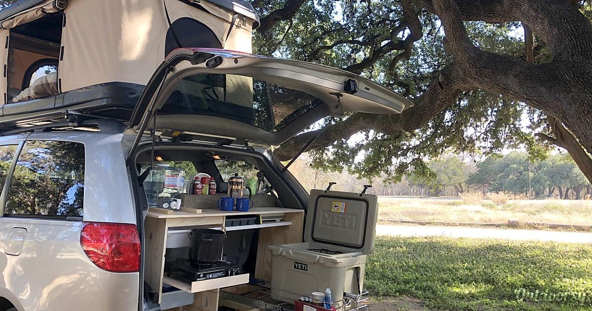 2008 Toyota Sienna Motor Home Camper Van Rental In Austin