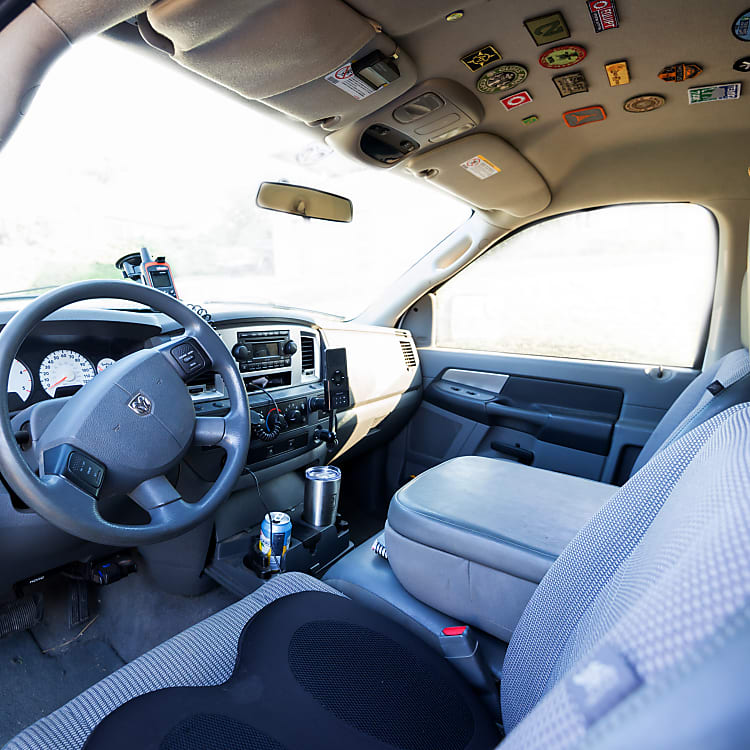 Comfortable and spacious cab with excellent road visibility