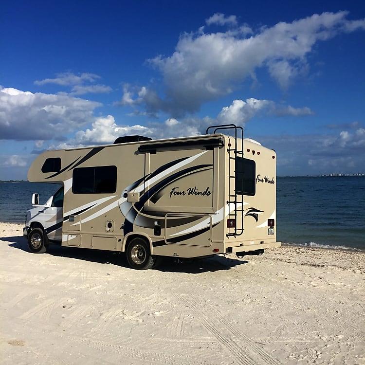 Driving the dream!  Sanibel Island, Florida!
