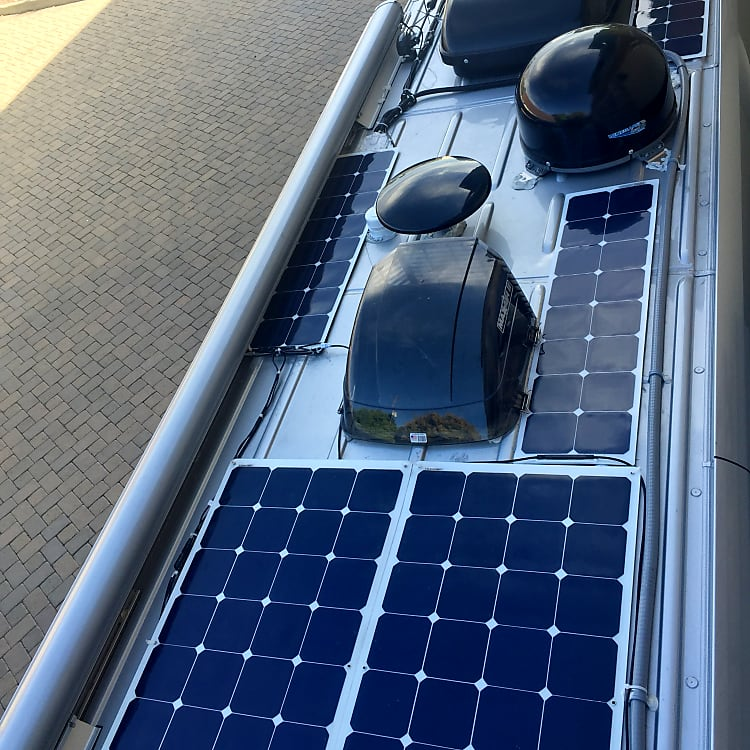400 Watts of Solar